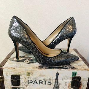 Ann Taylor Sequin Pumps Size 7 🖤